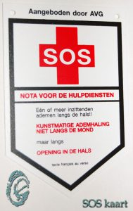 SOSkaart-auto